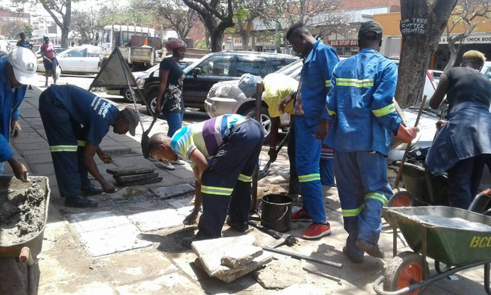 Bulawayo City Council restoration work