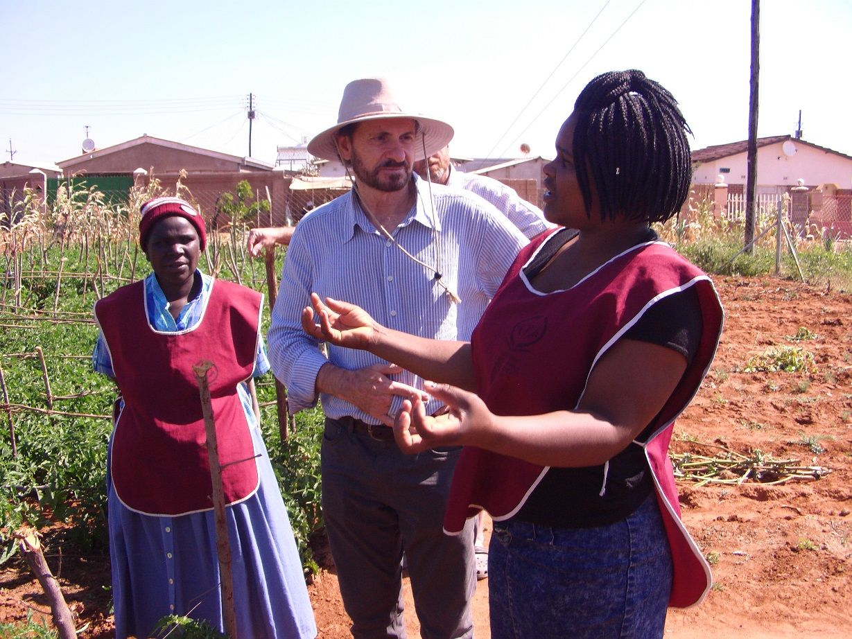 Gender collaboration Bulawayo nutritional garden