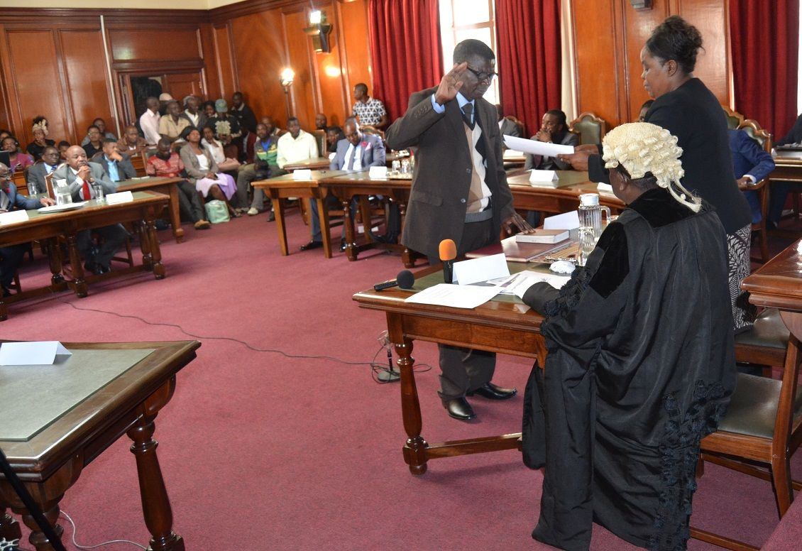New bulawayo councillor swearing in