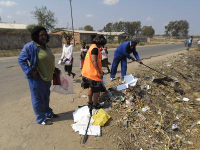 cleaning up bulawayo